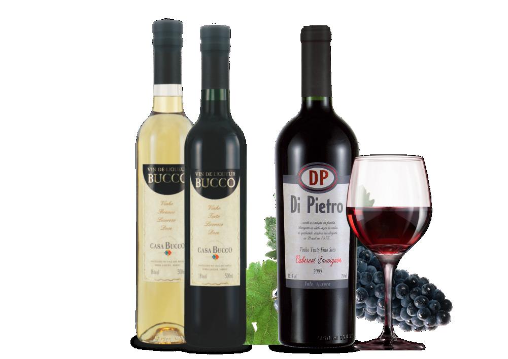 Vinhos Finos | Casa Bucco - Destilados Artesanais