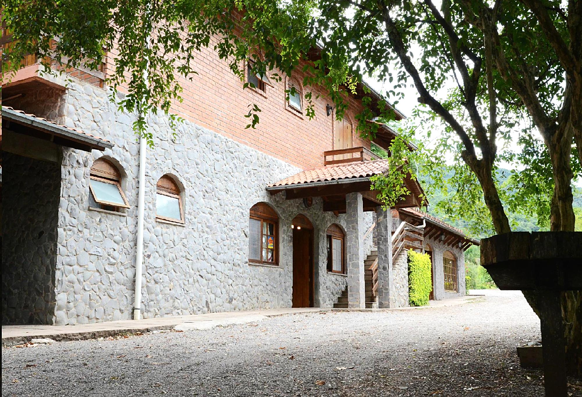 A pousada   Casa Bucco - Destilados Artesanais