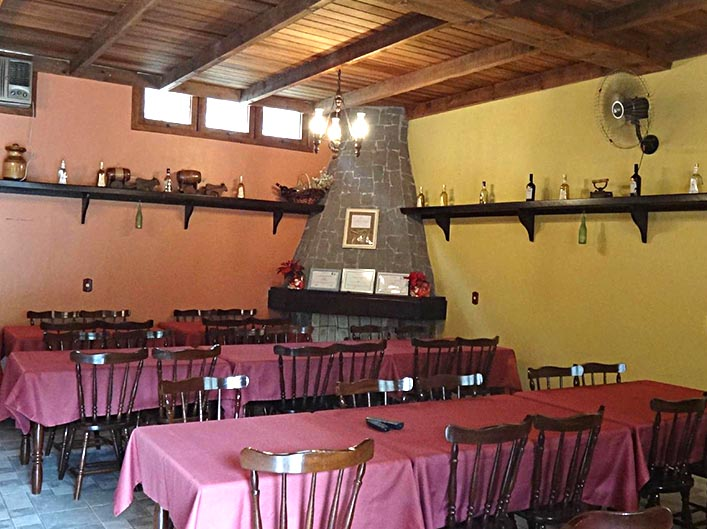 Restaurante | Casa Bucco - Destilados Artesanais
