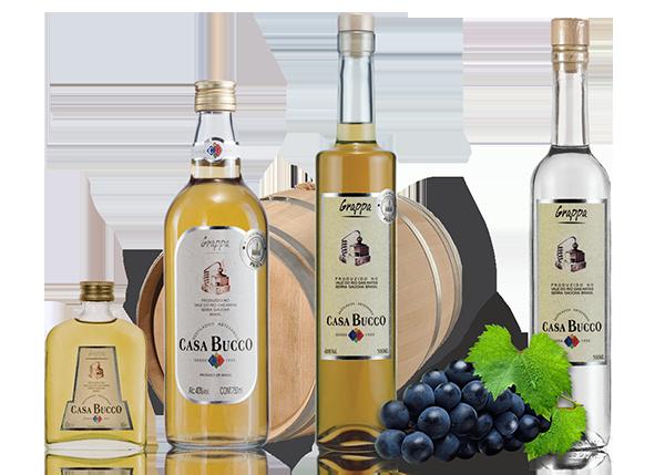 Grappa | Casa Bucco - Destilados Artesanais